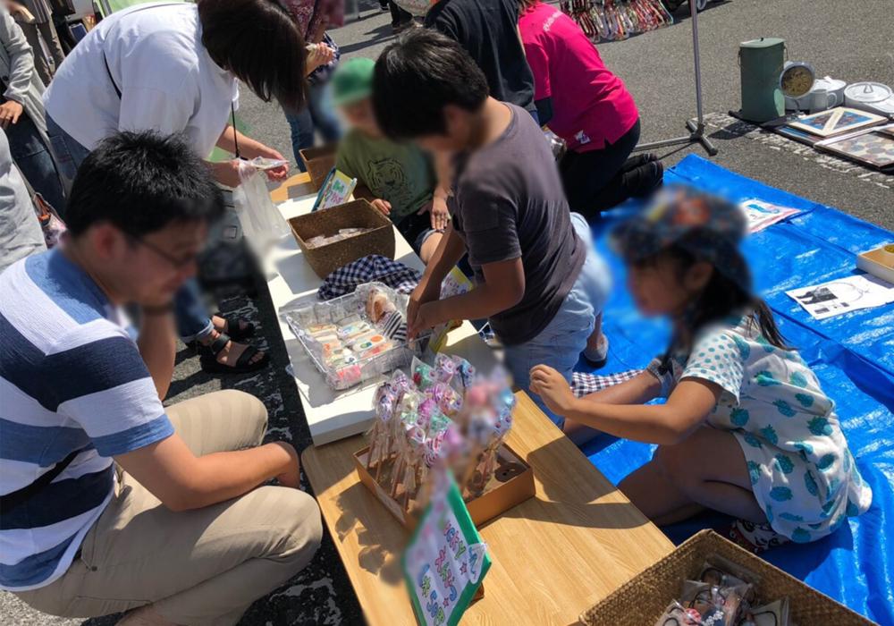 GKチャレンジ★フリーマーケットに出店いたしました★@若松原店・画像